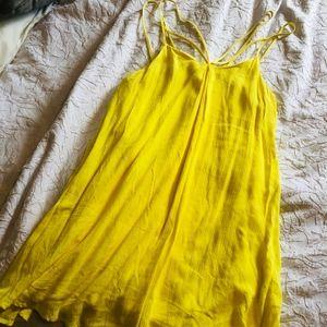 Gianni Bini Yellow Dress